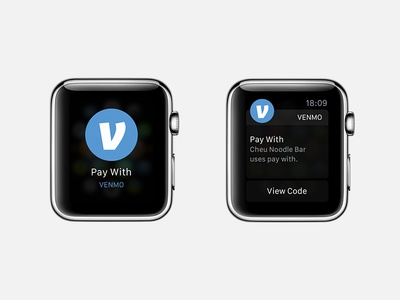 Pay With Venmo - Watch ui pay with venmo apple watch
