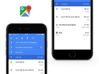 "Google Maps ""Add Stops"" feature ui maps google"