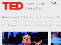 TED.com Redesign
