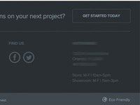 New Project - Footer