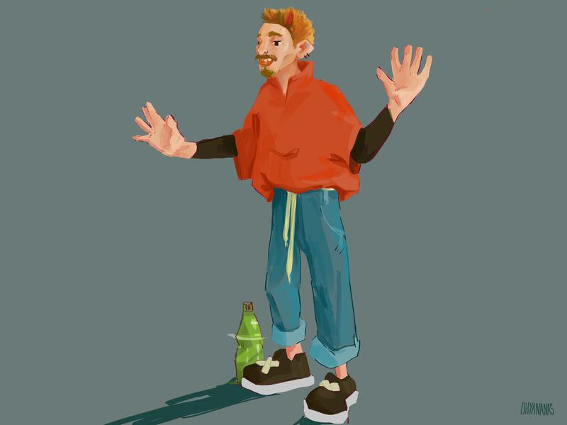 Bobby design photoshop illustration characterdesign character