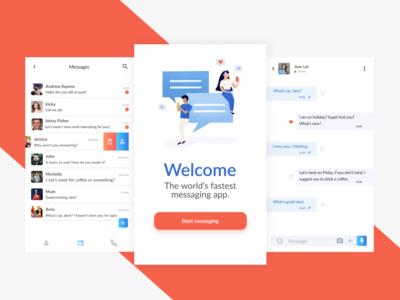 Messenger - Mobile Concept