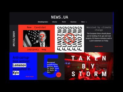UA.NEWS Redesign