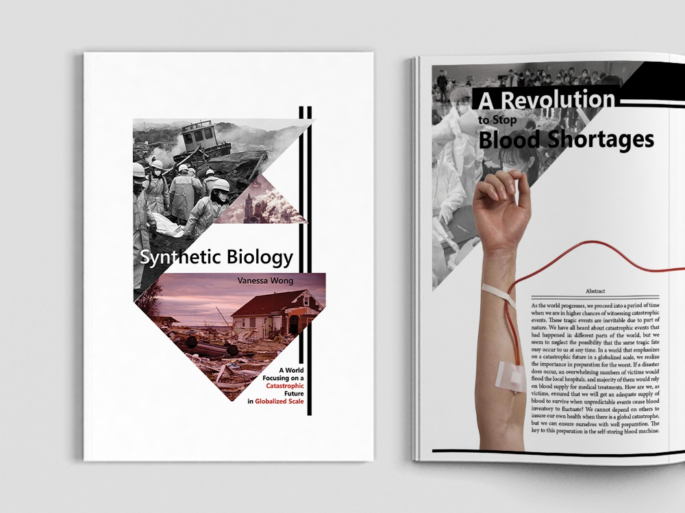 Synthetic Biology in Design graphic speculative design editorial design design