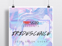 TEDxUCSD Iridescence Salon Event Poster