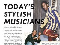 Today's Stylish Musicians