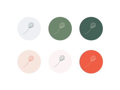 MP Photography / Colour & Illustrated Icon wedding feminine color colour palette color palette natural lily procreate brand and identity graphic design flower illustrative brand style brand designer branding illustration
