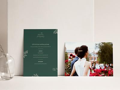 MP Photography Visual Identity & Flyer Design procreate feminine design feminine logo romantic flyer designs graphic design illustration brand identity wedding card feminine floral wedding flyer design brand design