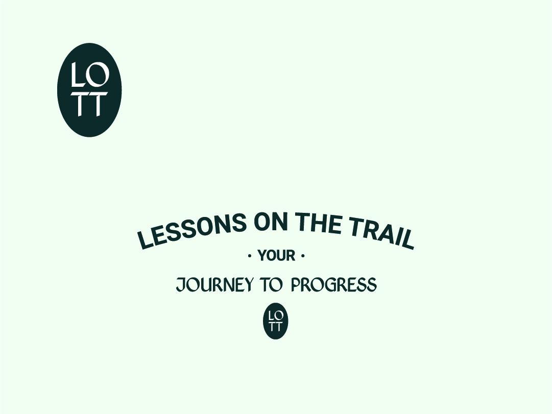 Logo Design // Lessons on the Trail branding design graphic design logo logodesign brand and identity logo