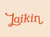 Hand Lettered Logo / Laikin Studio