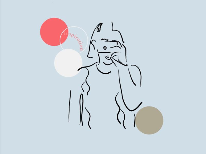Inspiration Illustration minimal illustration graphic design visual communications illustration