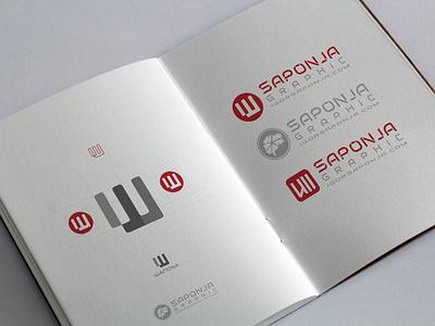 Sketchbook Saponja Graphic cyrillic logo ux ui logo typography logo design graphic  design illustrator illustration adobeillustator vector branding