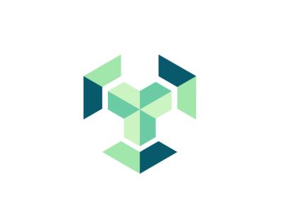 Connect cube logo