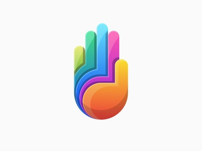 Mystic hand logo