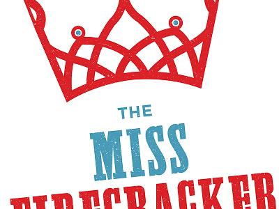 Miss Firecracker (Detail) poster print university theatre