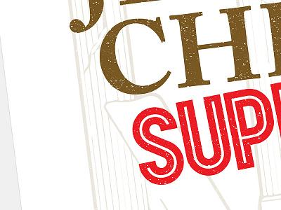 JCS In university theatre print poster