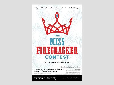 MISS FIRECRACKER CONTEST (Final) theatre poster
