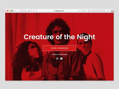 Rocky Horror Teaser Website website rocky horror rhps