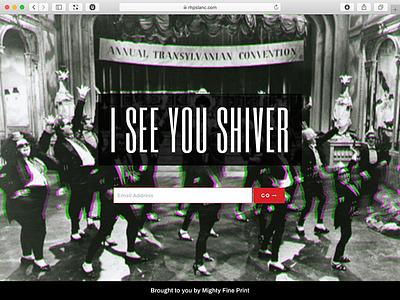 RHPS Lanc 2019 Splash Screen rhps event branding event website theatre
