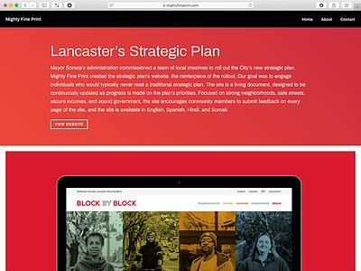 Single Project website webdesign portfolio website typography portfolio site portfolio grid layout grid gradients gradient colorful