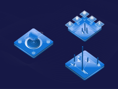 Illustration for a crypto webapp
