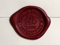 Little Red Letter Wax Seal
