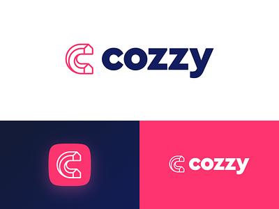 Cozzy - Smart Hotel v3 moye moyedesign letter logodesign branding logo