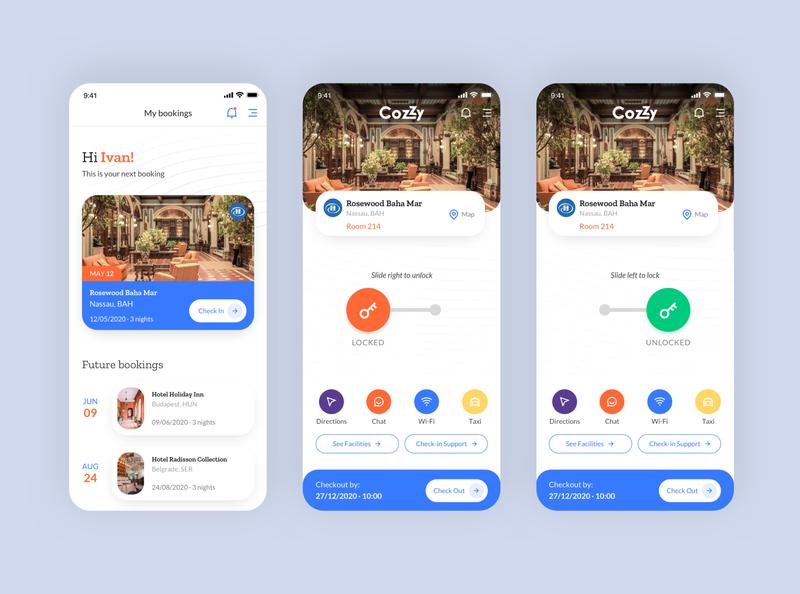 CozZy - Smart Hotel App V2