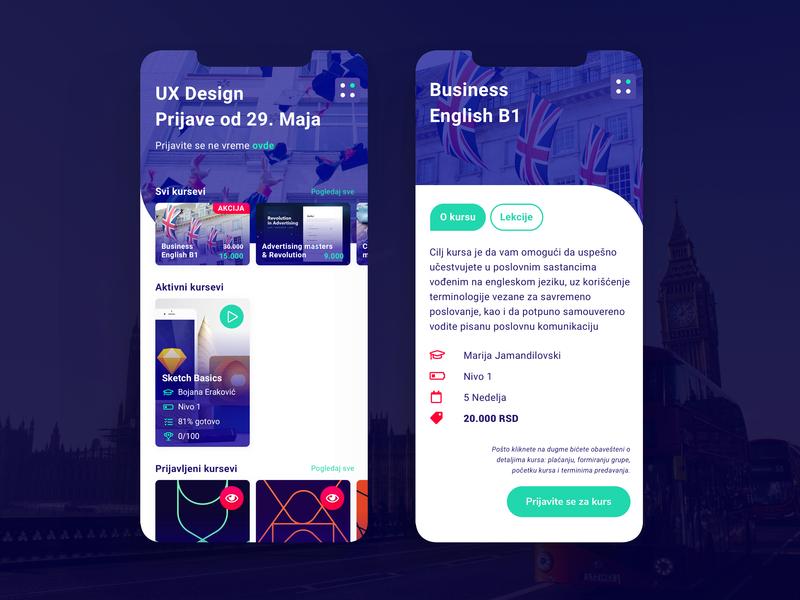 Blender - Blended Learning Platform by moye_dsgn on Dribbble
