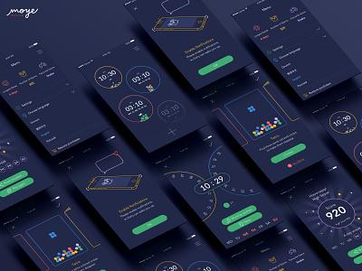 Early Game Alarm uxdesign ios app  design branding ui design moyedesign ux app moye ui