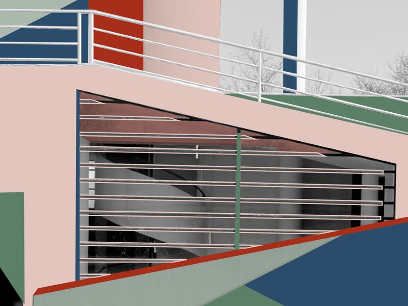 L e C o r b u s i e r animation wrapmagazine wesanderson sightunseen photography pattern openhousemagazine minimal interiorarchitecture illustration design colour color art architecture abstract