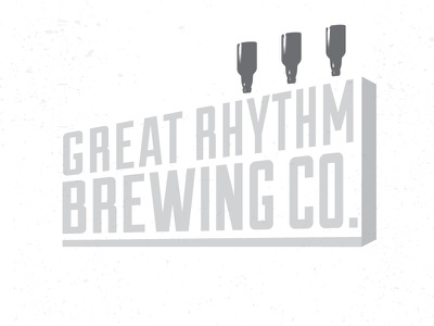 Great Rhythm BW jsteinberg guitar beer logo identity