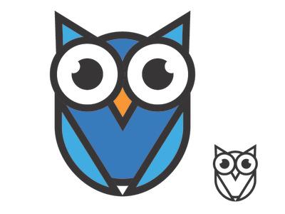 Owl Logo logo a day friday fun logo