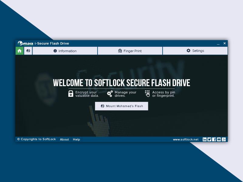 Secure Flash Desktop App security home arabic application app desktop flat modern minimal screen splash