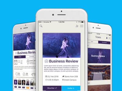 EventDuck iOS App