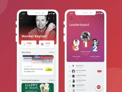 Optio - Profile and Leaderboard