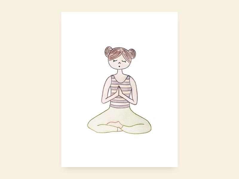 Meditating Mabel By Laura Jane Matty On Dribbble