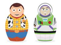Toystory Russian dolls