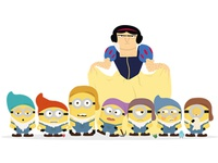 Gru & the seven dwarfs