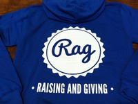 Rag Logo printed on Hoodie