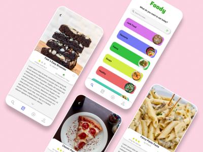 Foody - Recipe App