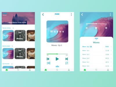 Pods - Podcast Player App