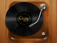 Retro Record Player Icon