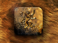 Lannister Icon - Game of Thrones