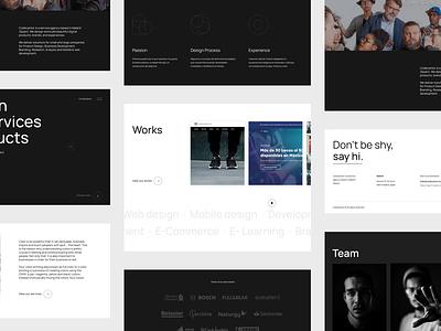 Codecantor Website studio web design ui design ux ui agency design website