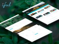 Ifeel website desktop