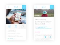 Ifeel Mobile screens