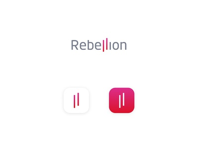 Rebellion Logo bank not a bank people rebel young credit card rebellion logo