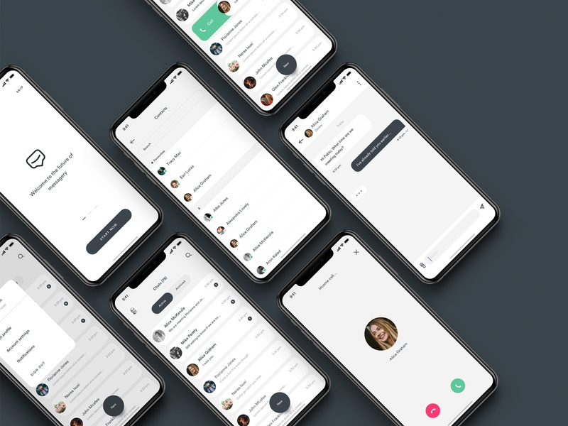 Chaty. The Chat App app design uiux ui app uidesign chat app message chat