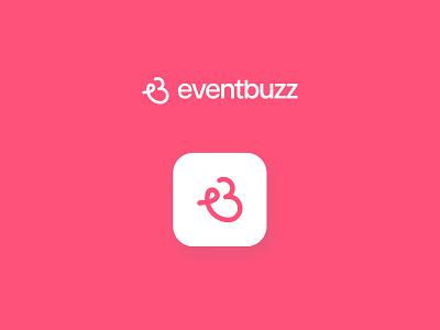 Eventbuzz logo mark e logo b logo logotype bee symbol logodesign brand design branding brand logo